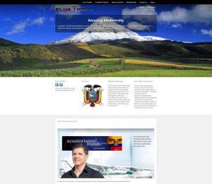 Association of Ecuadorians in the Kingdom of Thailand - Phuket Web Design