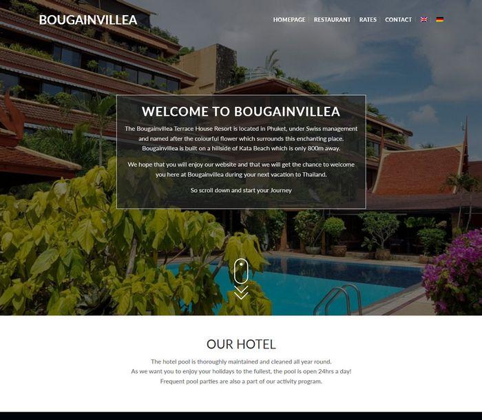 Bougainvillea - Melki.Biz - Consulting, SEO & Web Design in Phuket