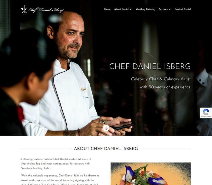 Chef Daniel Isberg - Melki.Biz - Consulting, SEO & Web Design in Phuket