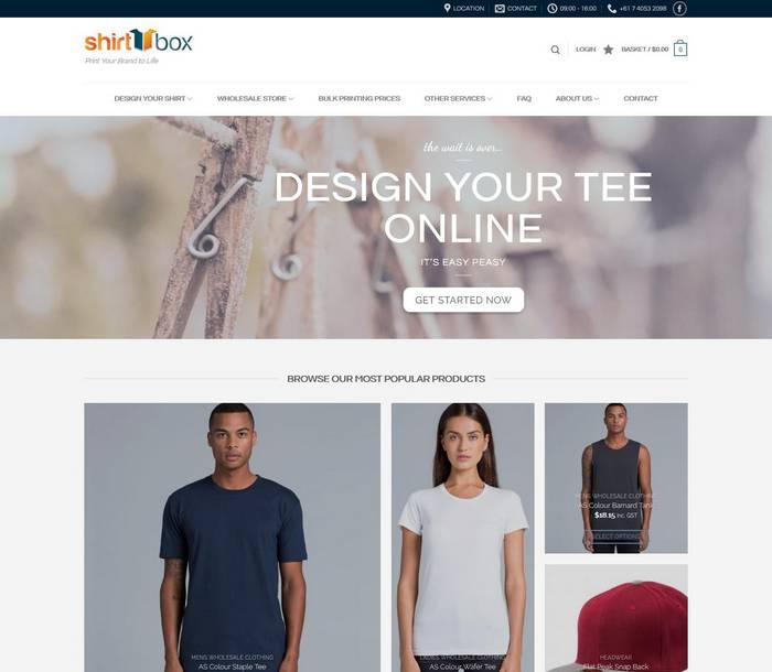 Custom T Shirt Printing, Wholesale Clothing & Eco Print Solutions Cairns - Melki.Biz - Consulting, SEO & Web Design in Phuket