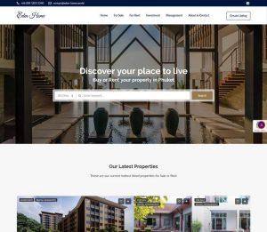 Eden Home Phuket by Melki.Biz - Consulting, SEO & Web Design in Phuket