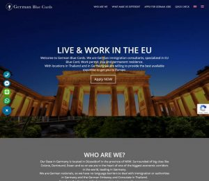 German Blue Cards Live Work in the EU