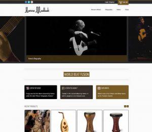 Hanna Music - Music Holography Studios - Phuket Web Design
