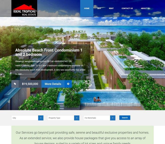IdealTropical.com optimised by Melki.Biz - Consulting, SEO & Web Design in Phuket