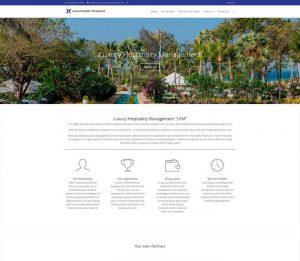 Luxury Hospitality Management - Phuket Web Design