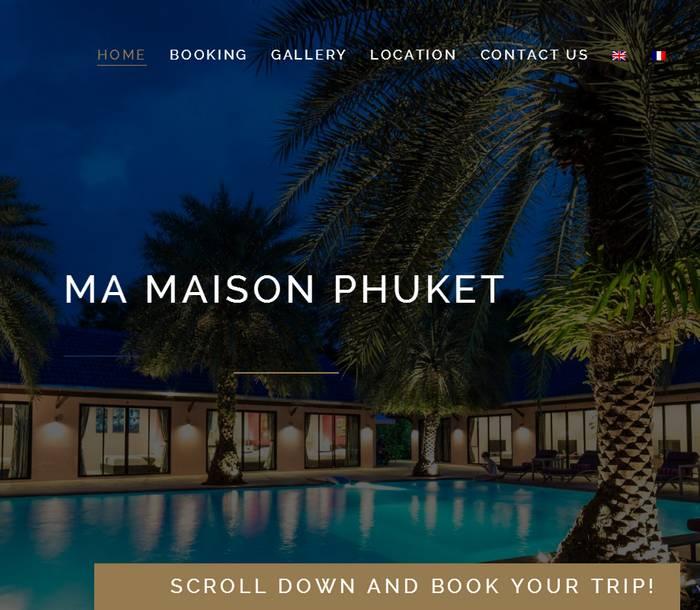 MaMaisonPhuket - Melki.Biz Consulting & Web Design