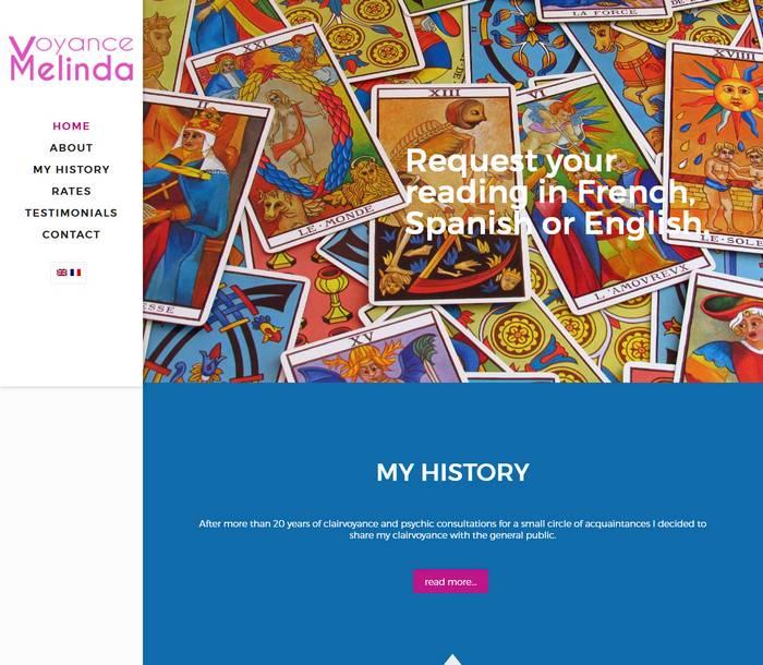 Melinda Voyance by Melki.Biz - Consulting, SEO & Web Design in Phuket