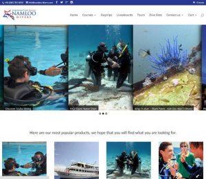 Namloo Divers by Melki.Biz Consulting & Web Design Portfolio