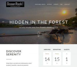 Ocean Rock Kalim by Melki.Biz - Consulting, SEO & Web Design in Phuket