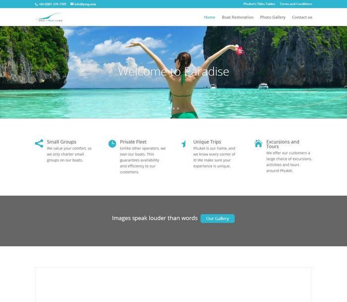 Phuket Marine Grou - PMG by Melki.Biz Consulting & Web Design