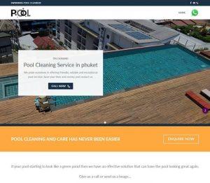 Phuket Pool Cleaning - Melki.Biz - Consulting, SEO & Web Design in Phuket