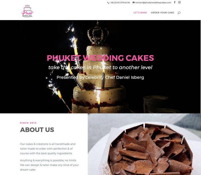 Phuket Wedding Cakes - Melki.Biz - Consulting, SEO & Web Design in Phuket