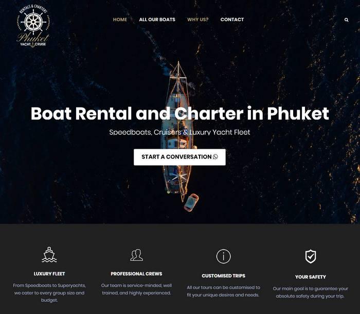 Phuket Yacht Cruise - Melki.Biz - Consulting, SEO & Web Design in Phuket