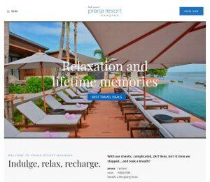 Prana Resort NANDANA Samui - Melki.Biz - Consulting, SEO & Web Design in Phuket