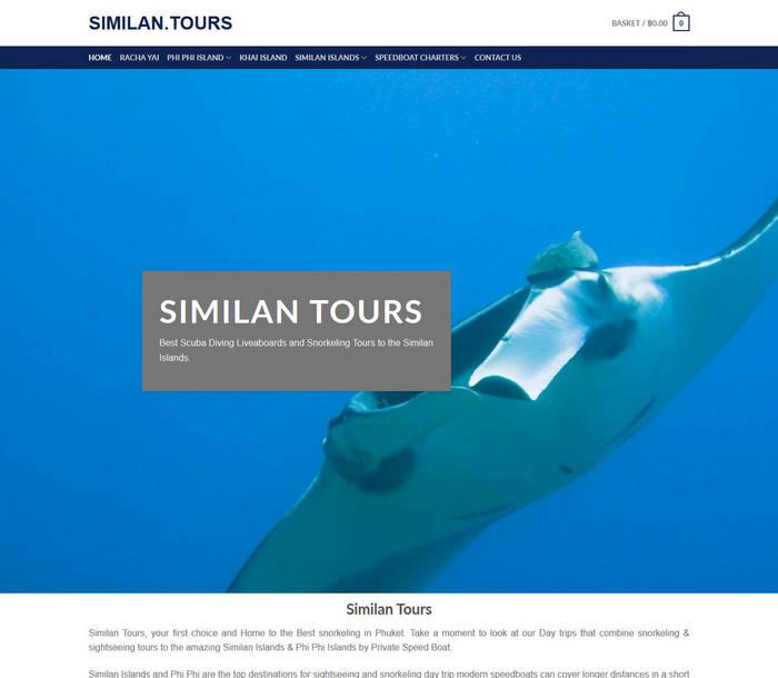 SIMILAN Tours - Melki.Biz Consulting & Web Design in Phuket