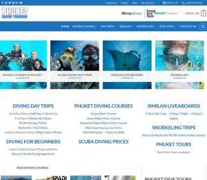 Scuba Diving Day Trips & PADI Courses - Melki.Biz - Consulting, SEO & Web Design in Phuket