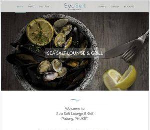 Sea Salt Lounge & Grill - Melki.Biz - Consulting, SEO & Web Design in Phuket