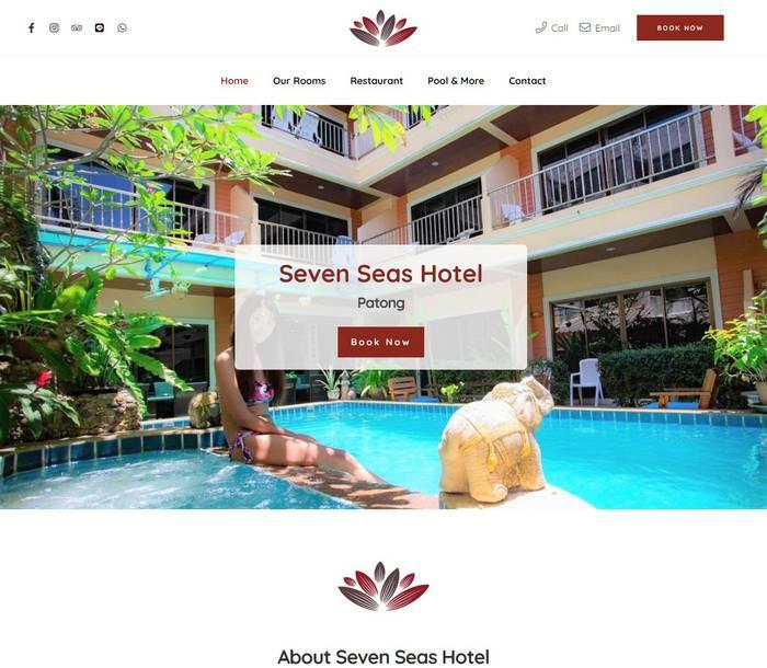 Seven Seas Hotel Patong - Melki.Biz - Consulting, SEO & Web Design in Phuket