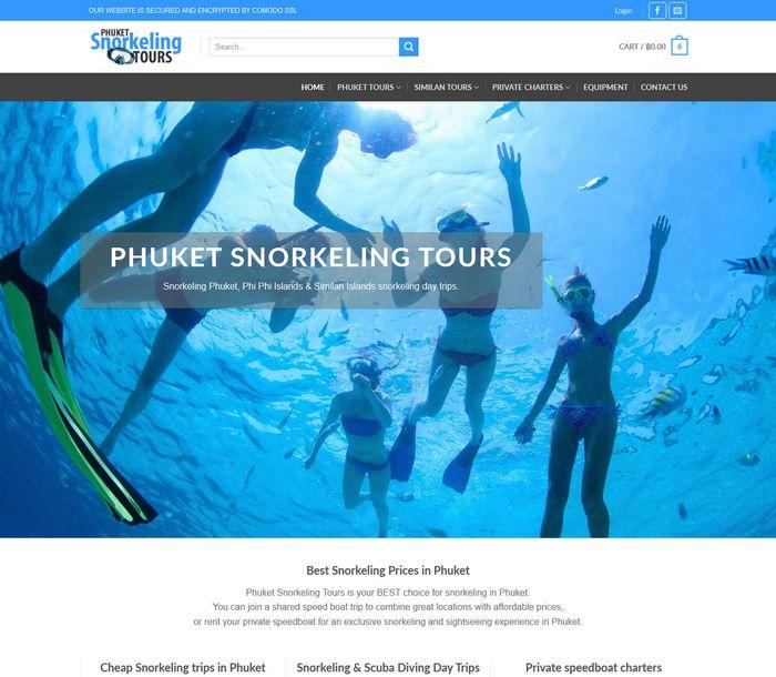 Snorkeling in Phuket, Phi Phi Similan Islands - Phuket Snorkeling Tours