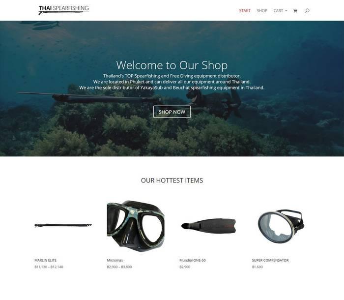 Thaispearfishing - Melki.Biz - Consulting, SEO & Web Design in Phuket