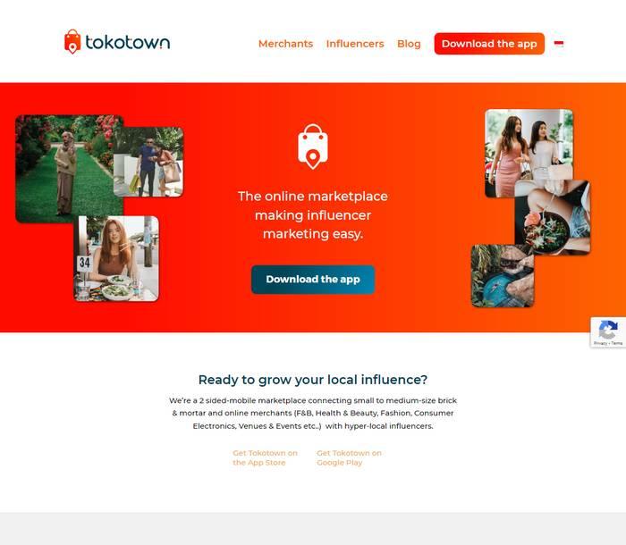 Tokotown The online marketplace - Melki.Biz - Consulting, SEO & Web Design in Phuket