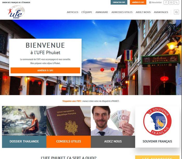 UFE Phuket Sponsorisé et conçu pour le web par Melki.Biz - Consulting, SEO & Web Design