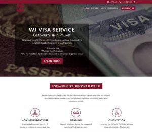 WJ Visa service in Phuket - Melki.Biz - Consulting, SEO & Web Design in Phuket